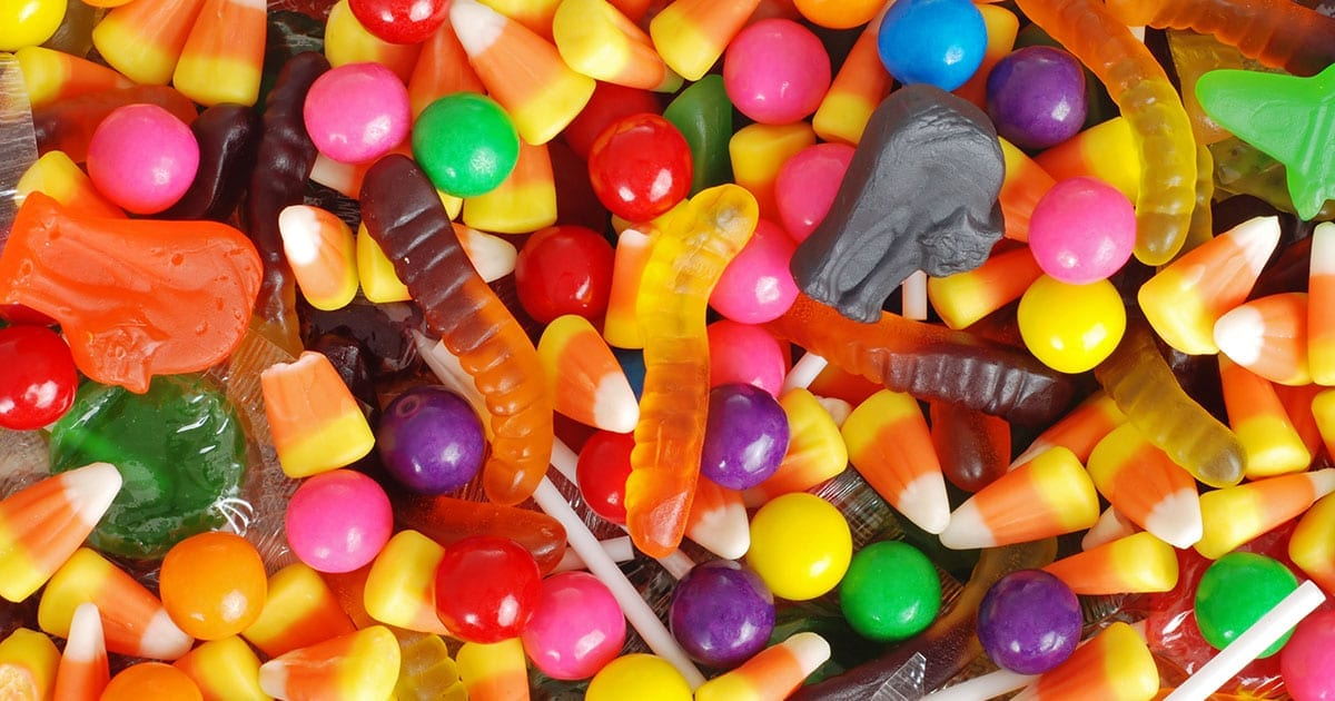 Halloween Candy Carb Counts